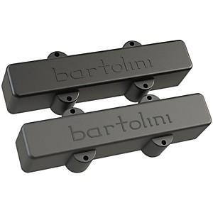 Bartolini Classic Bass Series 5-String J Bass Dual Coil Deep Tone Pickups Set Long/Long