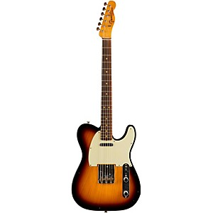 Fender Custom Shop 1960's Journeyman Relic Telecaster Electric Guitar Faded 3-Color Sunburst Rosewood Fretboard