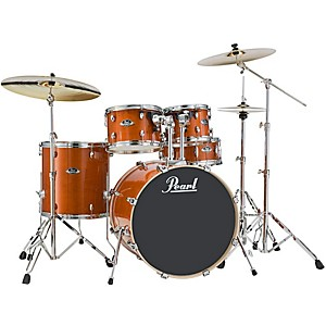 Pearl Export EXL Fusion 5-Piece Shell Pack Honey Amber