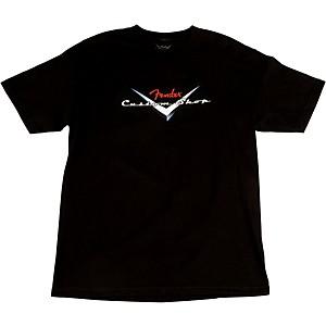Fender Custom Shop Original Logo T-Shirt Black Large