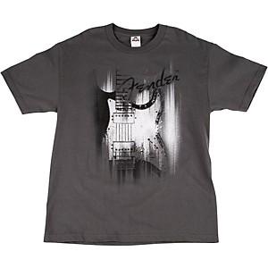 Fender Airbrushed Strat T-Shirt Gray Medium