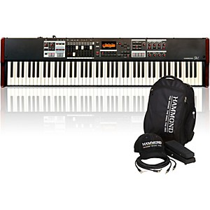 Hammond SK1-88 Digital Keyboard with Keyboard Accessory Pack