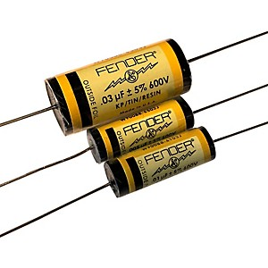 Fender Pure Vintage YELLOW Amplifier Capacitors .02 - 600V KTR