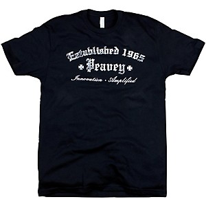 Peavey Gothic T-Shirt Black Medium