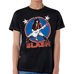 Slash Deteriorated Stars T-Shirt X-Large