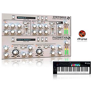Novation Launchkey 49 Keyboard Controller with Free Software with Free Fxtra VST/AU Software Bundle