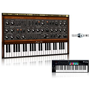Novation Launchkey 49 Keyboard Controller with Free Software with Free Sawer Virtual Synthesizer Software