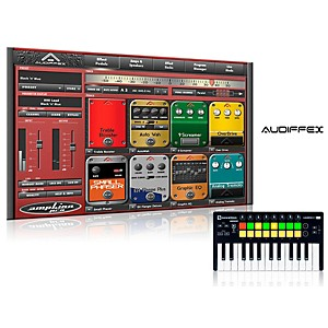 Novation Launchkey Mini MKII Controller with Free Software wiith Free ampLion Pro Special Guitar Gear Simulation Sftwr