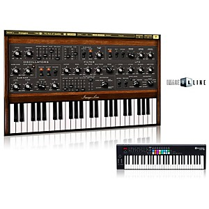 Novation Launchkey 61 Keyboard Controller with Free Software with Free Sawer Virtual Synthesizer Software