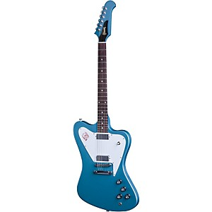 Gibson Firebird Non-Reverse Limited Edition Electric Guitar Faded Pelham Blue