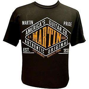 Martin Pride Authentic T-Shirt Black Medium
