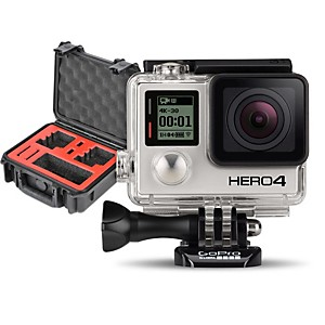 GoPro HERO4 Black - Standard with Double Case
