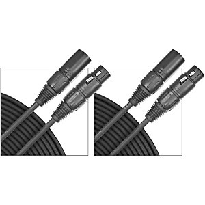 D'Addario Planet Waves Classic Series Microphone Cable (Lo-Z) 2-Pack 25 Foot