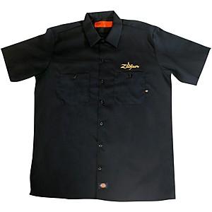 Zildjian Dickies Work Shirt Black Medium