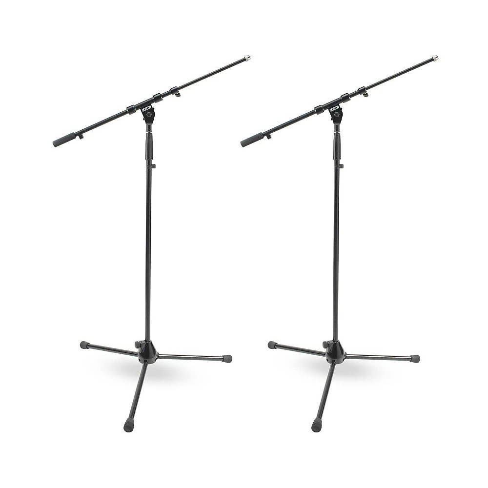 Dr Pro Tripod Mic Stand With Telescoping Boom 2 Pack