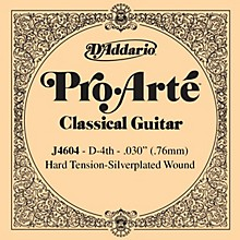 D'Addario J46 D-4 Pro-Arte SP Hard Single Classical Guitar String