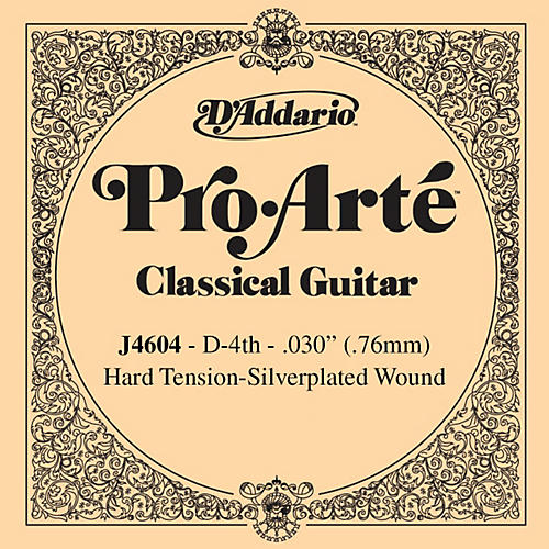 D'Addario J46 D-4 Pro-Arte SP Hard Single Classical Guitar String thumbnail