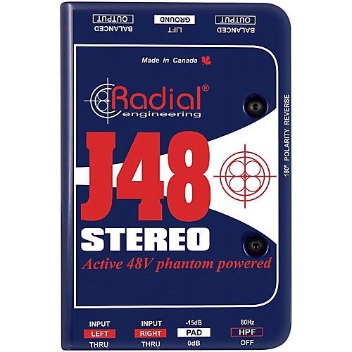 Radial Engineering J48 Stereo Active Direct Box thumbnail