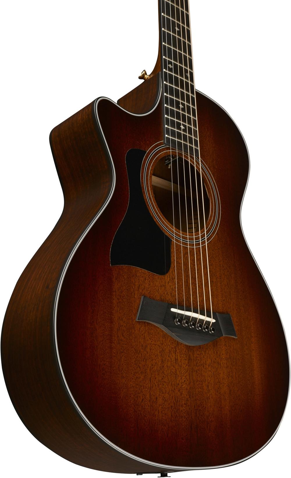 taylor 322ce 12 fret grand concert left hnd acoustic elec guitar shd