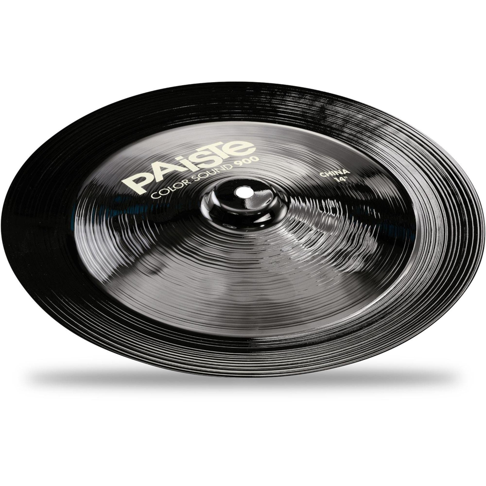 paiste colorsound 900 china cymbal black 14 in 697643114371 ebay. Black Bedroom Furniture Sets. Home Design Ideas
