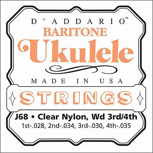 D'Addario J68 Baritone Ukulele Strings-thumbnail