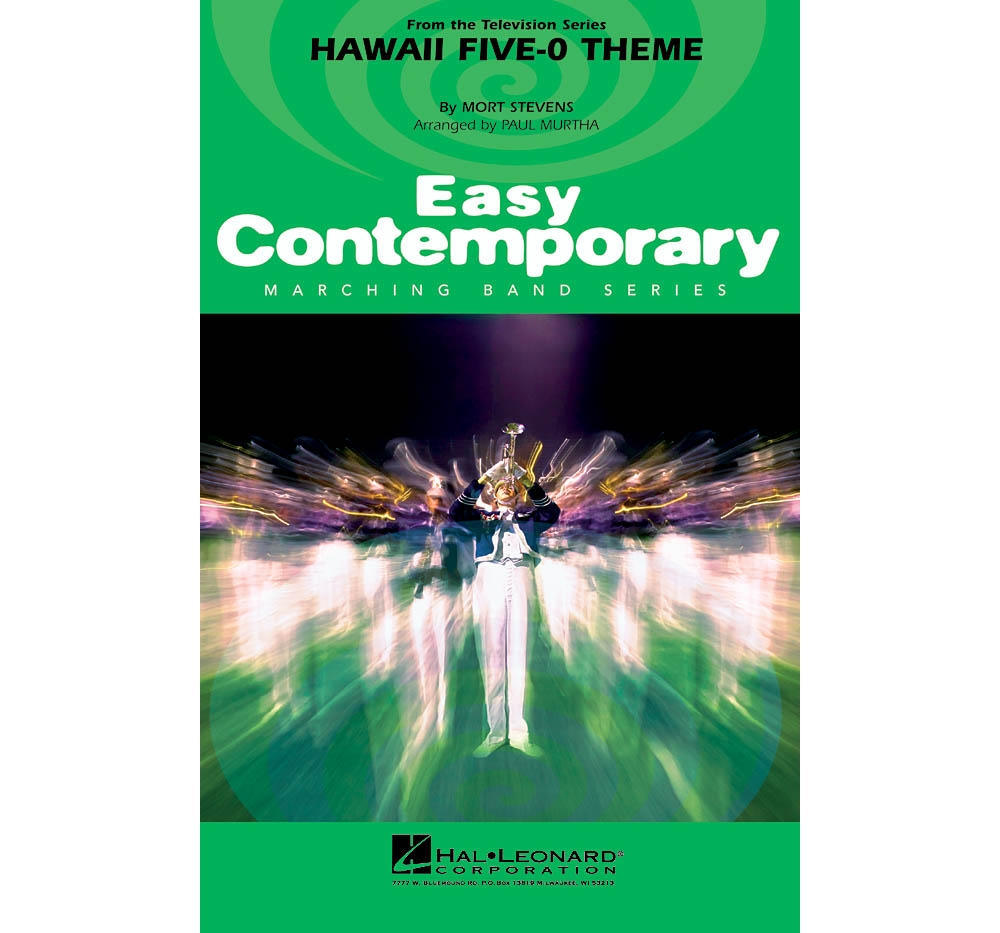 Details about Hal Leonard Hawaii Five-O Theme Marching Band Level 2-3  Arranged by Paul Murtha