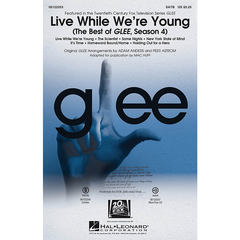 Details about Live While We're Young (The Best of Glee, Season 4) 2-Part by  Glee Cast