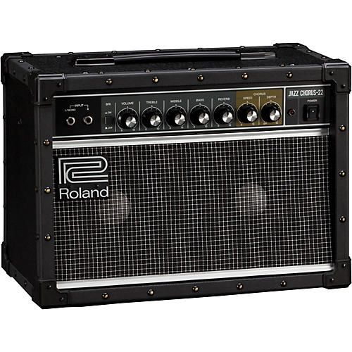 Roland JC-22 Jazz Chorus 30W 2x6.5 Guitar Combo Amplifier thumbnail