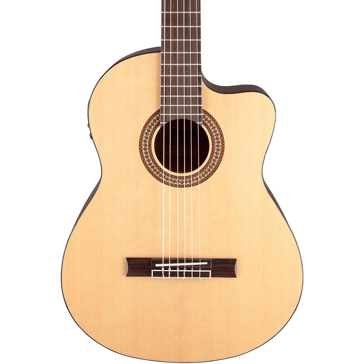 Jasmine JC-25CE Cutaway Classical Acoustic-Electric Guitar thumbnail