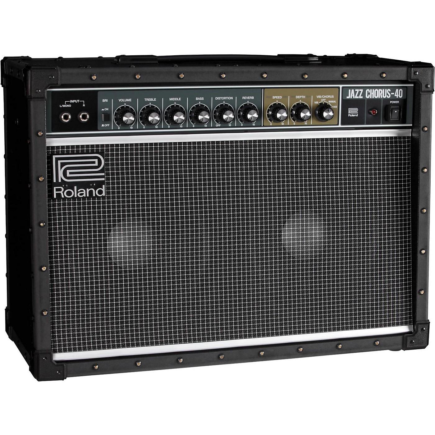 Roland JC-40 40W 2x10 Jazz Chorus Guitar Combo Amp thumbnail