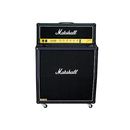 Marshall JCM800 2203 Vintage Series 100W Guitar Tube Head with 1960A 300W 4x12 Cabinet thumbnail