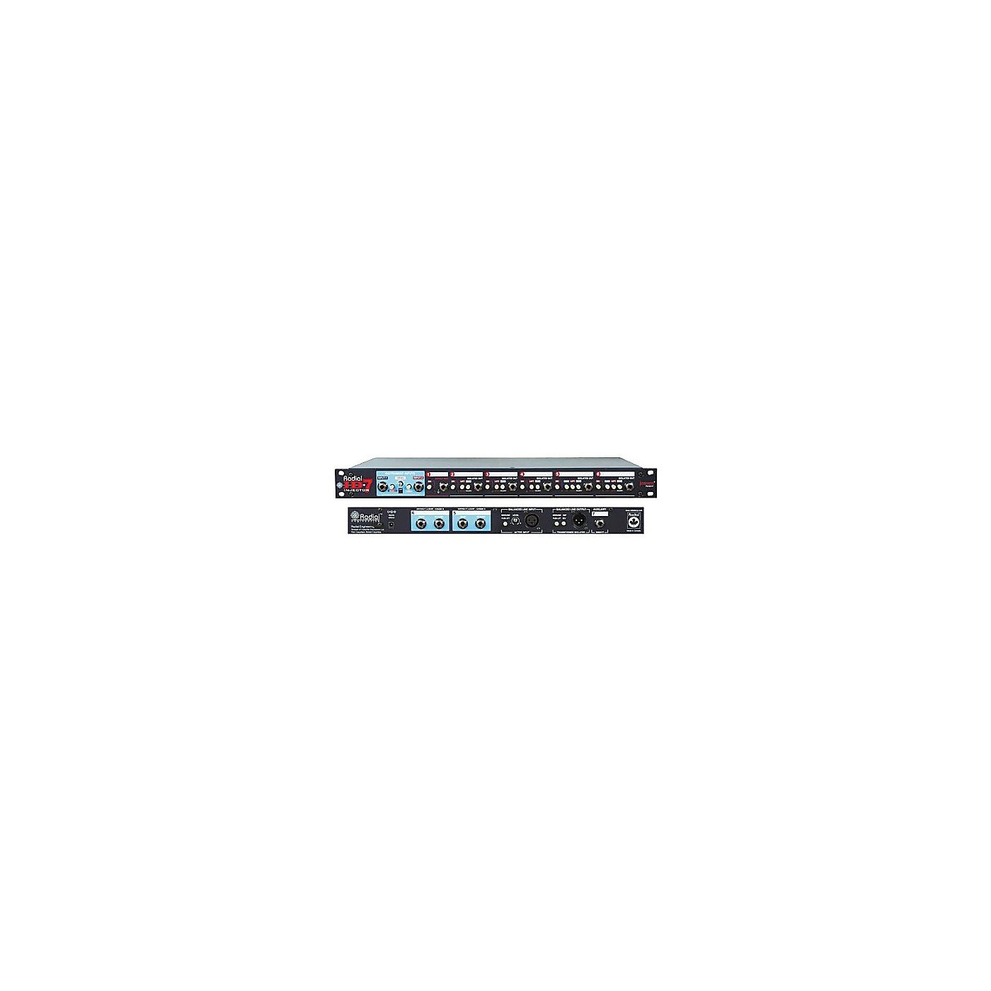 Radial Engineering JD7 Injector Guitar Signal Distribution System thumbnail