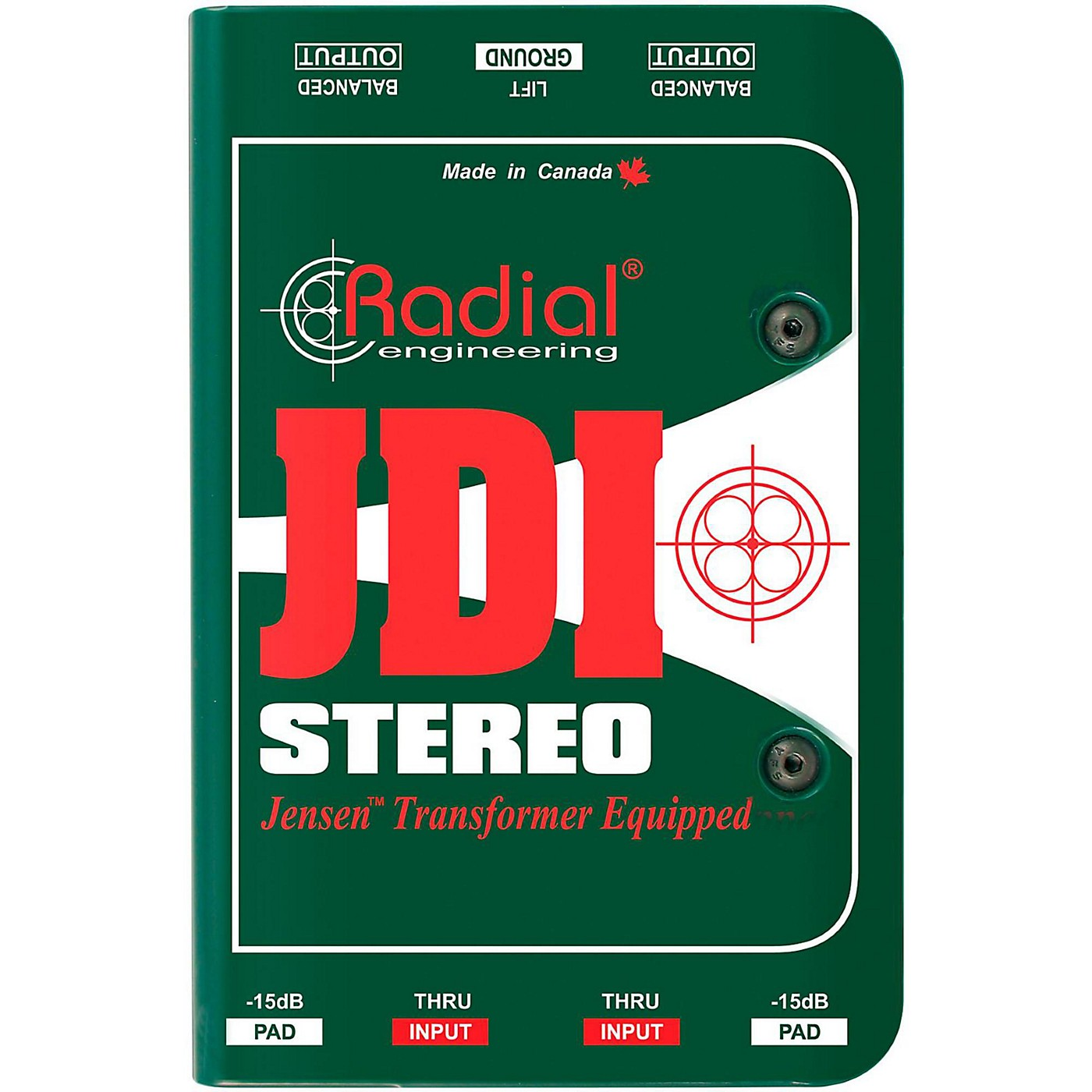 Radial Engineering JDI Stereo Passive Direct Box thumbnail