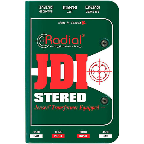 Radial Engineering JDI Stereo Passive Direct Box thumbnail