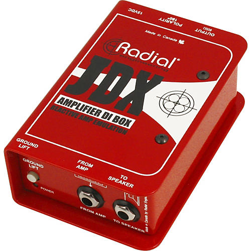 Radial Engineering JDX Reactor Guitar Amp and Cabinet Direct Box-thumbnail