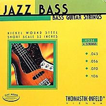Thomastik JF324 Flatwound Short Scale 4-String Jazz Bass Strings