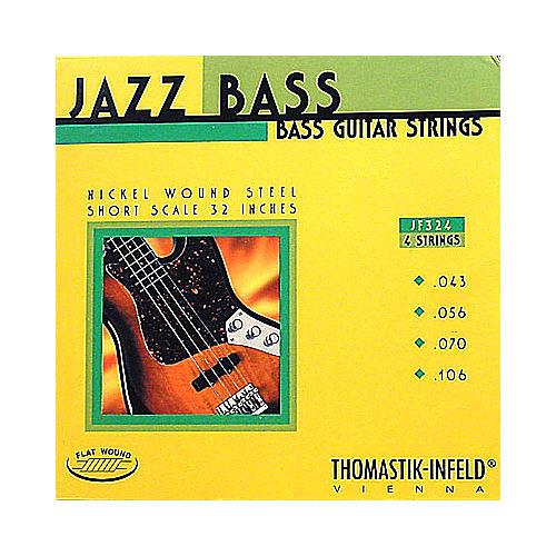 Thomastik JF324 Flatwound Short Scale 4-String Jazz Bass Strings thumbnail