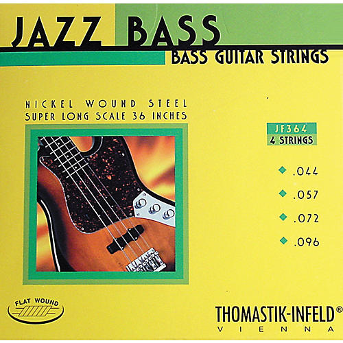 Thomastik JF364 Flatwound Super Long Scale 4-String Jazz Bass Strings thumbnail