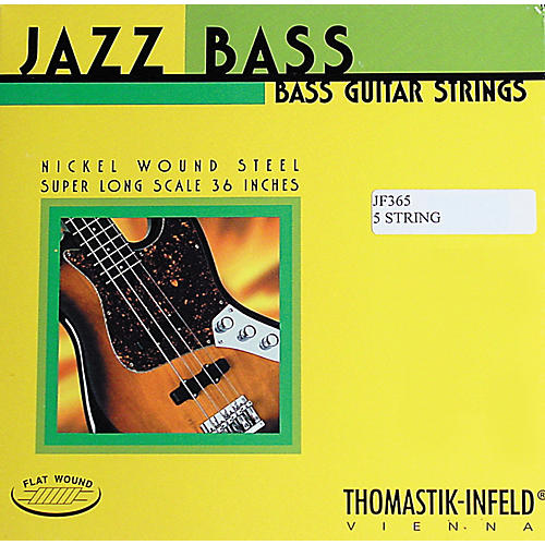 Thomastik JF365 Jazz Flatwound Long Scale 5-String Bass Strings thumbnail