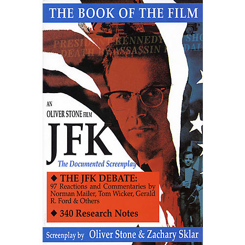 Applause Books JFK (The Book of the Film) Applause Books Series Softcover Written by Oliver Stone thumbnail