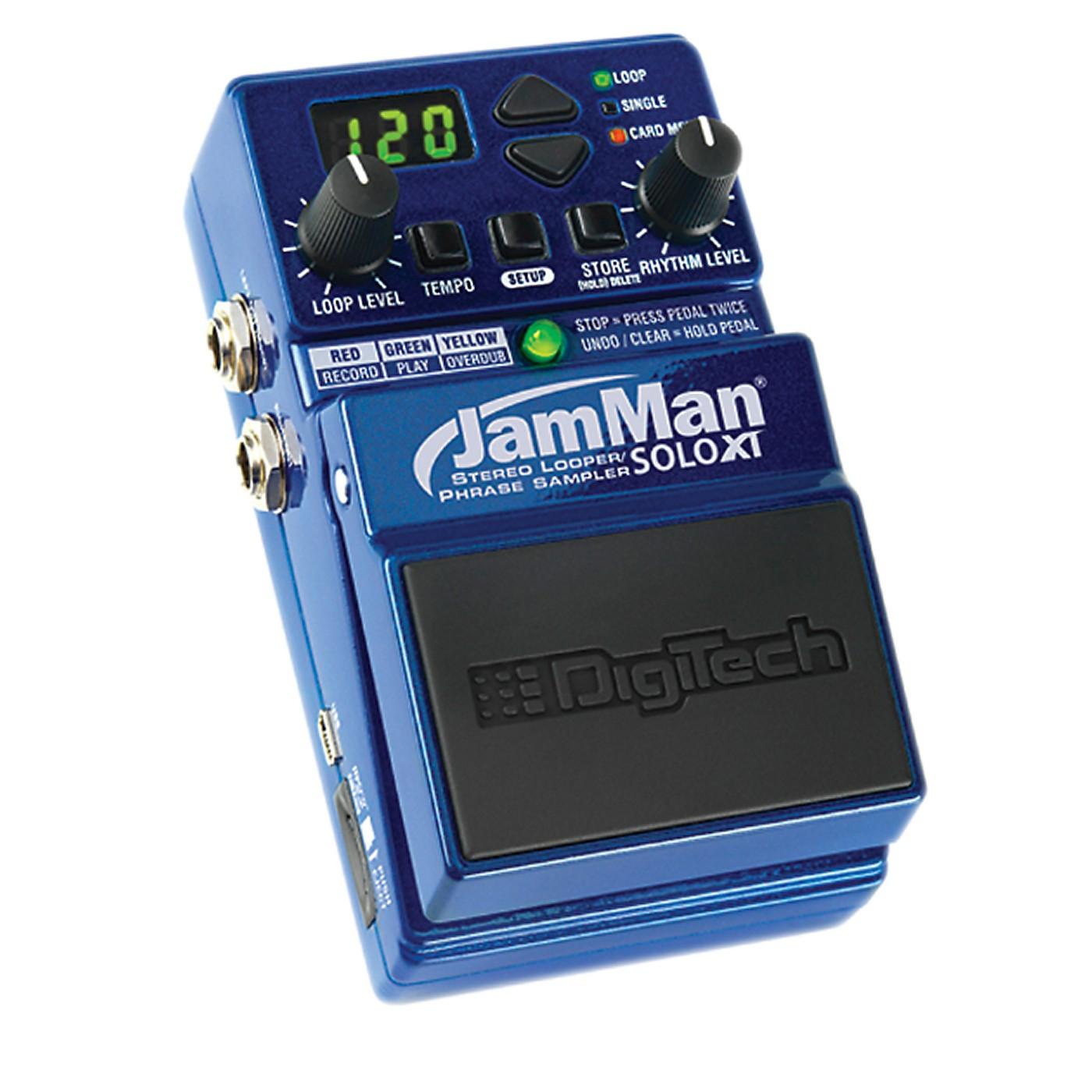 DigiTech JMSXT JamMan Solo XT - Stompbox Looper with Stereo I/O and Sync thumbnail