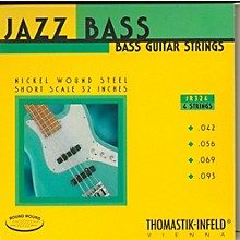Thomastik JR324 Roundwound Jazz Series Short-Scale Electric Bass Strings