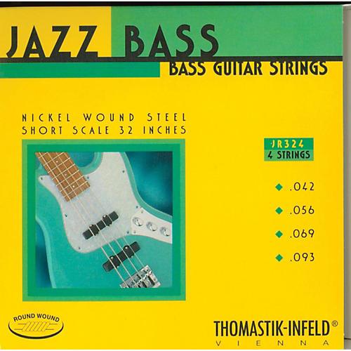 Thomastik JR324 Roundwound Jazz Series Short-Scale Electric Bass Strings thumbnail