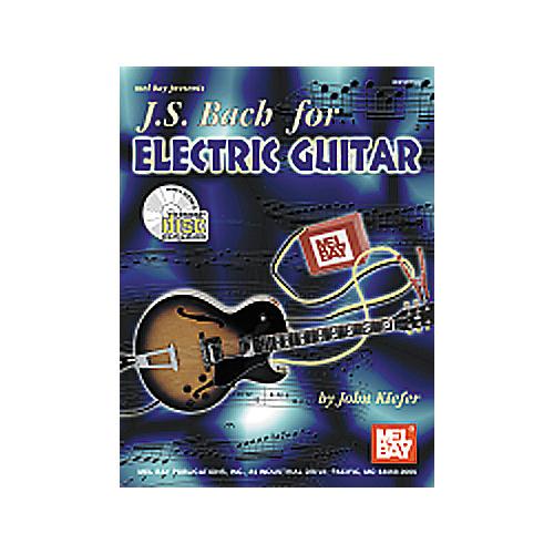 Mel Bay JS Bach for Electric Guitar Book/CD thumbnail