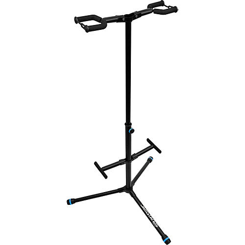 JAMSTANDS JS-HG102C Double Hanging-Style Guitar Stand with Personalized Colored Accent Bands.-thumbnail