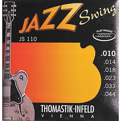 Thomastik JS110 Flatwound Extra Light Jazz Swing Guitar Strings thumbnail