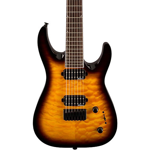 Jackson JS32-7 Dinky DKA QM 7-String Electric Guitar thumbnail