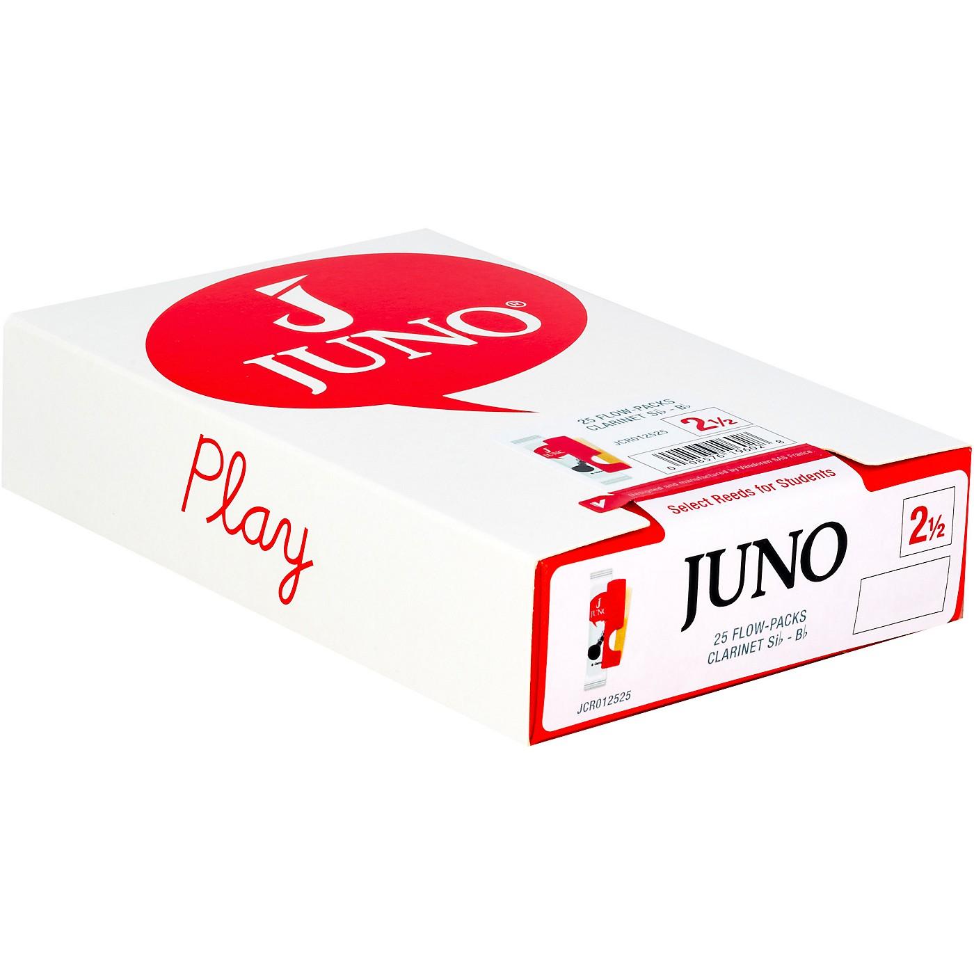 Vandoren JUNO Bb Clarinet, Box of 25 Reeds thumbnail