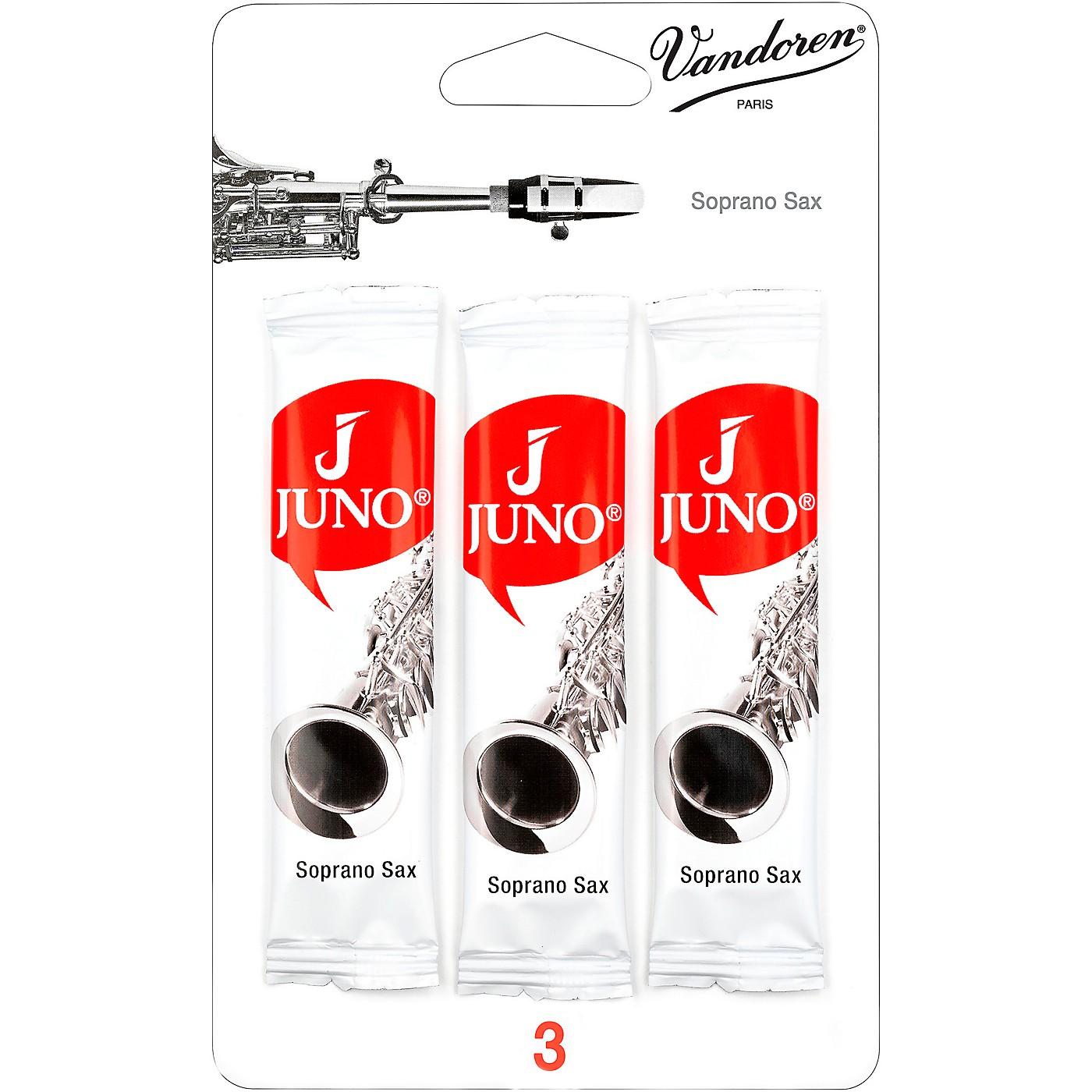 Vandoren JUNO Soprano Saxophone 3 Reed Card thumbnail