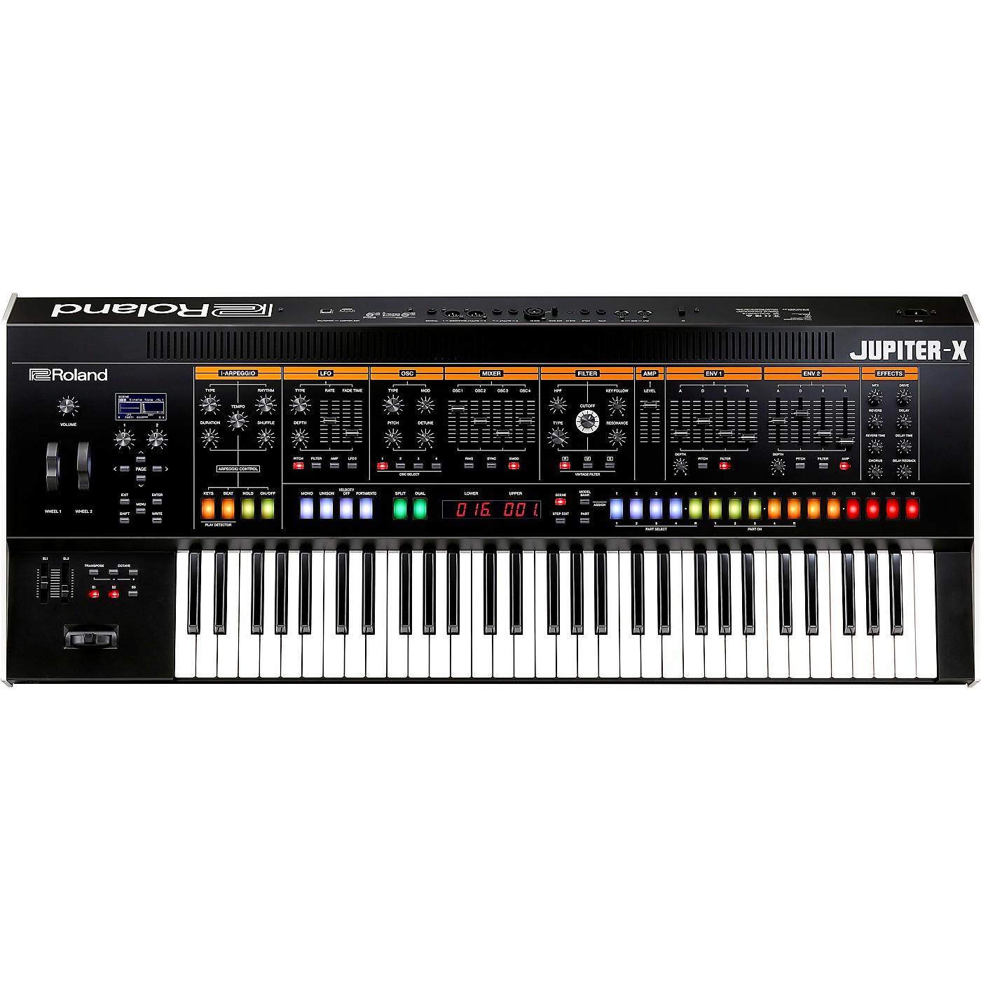 Roland JUPITER-X Synthesizer thumbnail